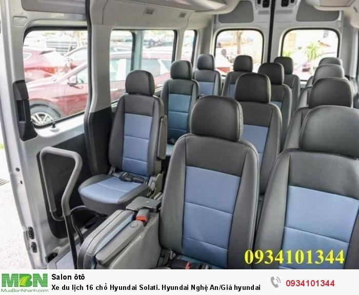 Xe du lịch 16 chổ Hyundai Solati. Hyundai Nghệ An/Giá hyundai 16 chổ. Hỗ trợ vay ngân hàng 70% 7