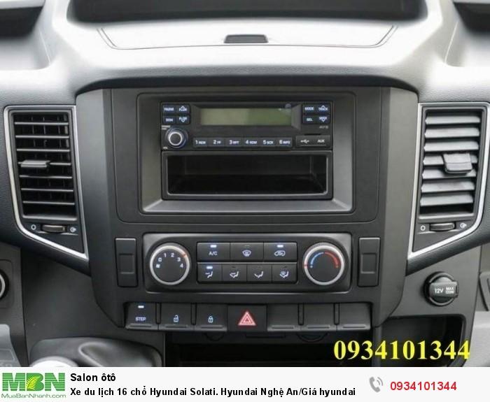 Xe du lịch 16 chổ Hyundai Solati. Hyundai Nghệ An/Giá hyundai 16 chổ. Hỗ trợ vay ngân hàng 70% 9