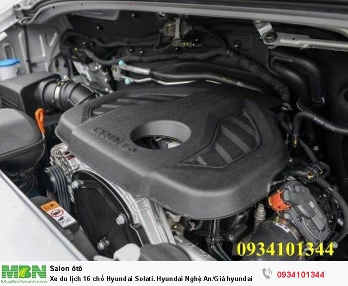 Xe du lịch 16 chổ Hyundai Solati. Hyundai Nghệ An/Giá hyundai 16 chổ. Hỗ trợ vay ngân hàng 70% 11