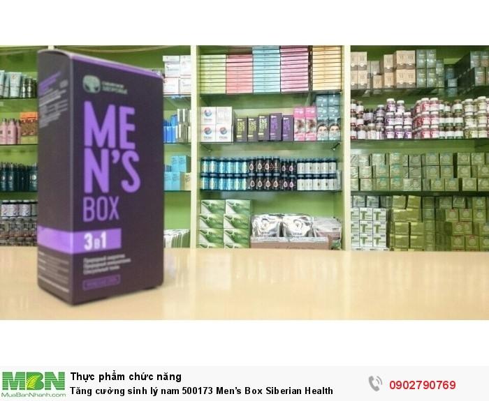 Tăng cường sinh lý nam 500173 Men's Box Siberian Health2