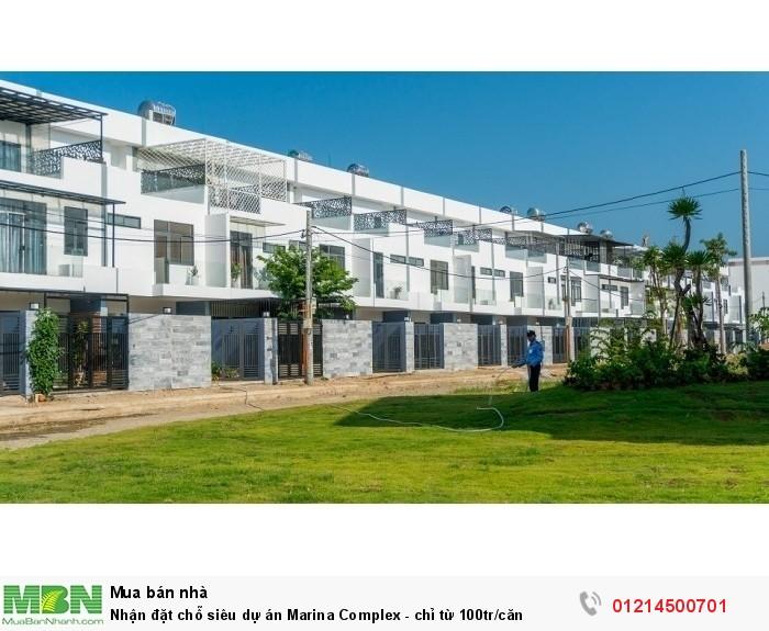 Nhận đặt chỗ siêu dự án Marina Complex