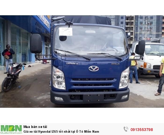 Giá xe tải Hyundai IZ65 tốt nhất tại Ô Tô Miền Nam