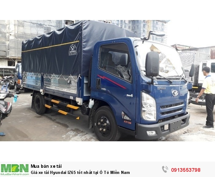 Giá xe tải Hyundai IZ65 tốt nhất tại Ô Tô Miền Nam 1