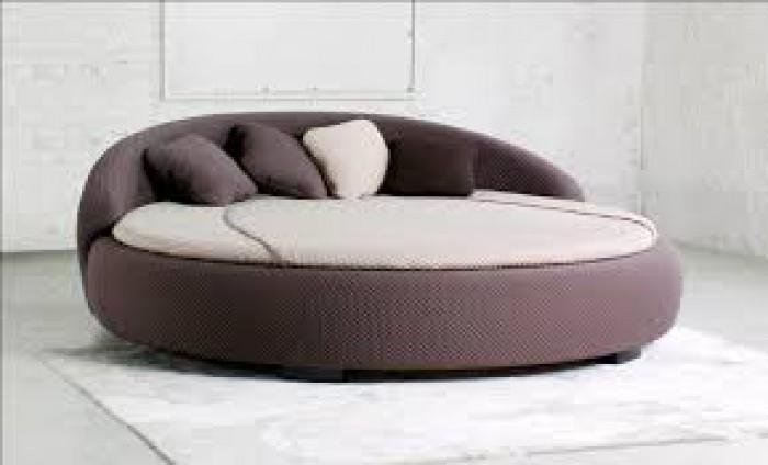 [15] Những mẫu giường tròn đẹp bọc nệm giá rẻ dưới 15 triệu