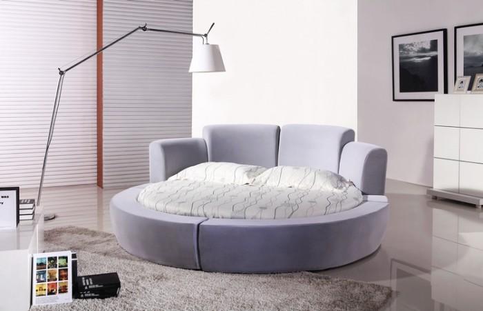 [17] Những mẫu giường tròn đẹp bọc nệm giá rẻ dưới 15 triệu