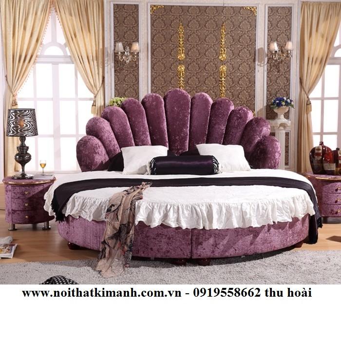 [18] Những mẫu giường tròn đẹp bọc nệm giá rẻ dưới 15 triệu