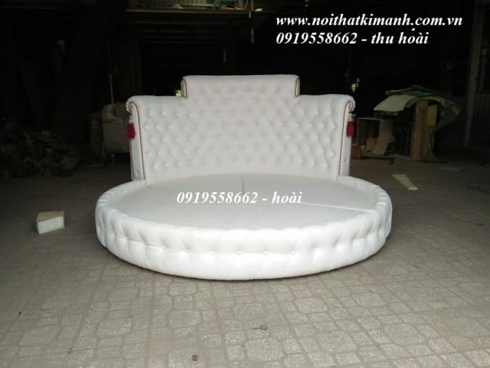[20] Những mẫu giường tròn đẹp bọc nệm giá rẻ dưới 15 triệu