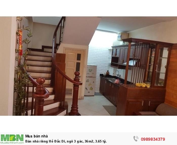 Bán nhà riêng Hồ Đắc Di, ngõ 3 gác, 36m2