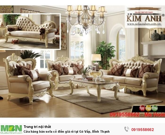 [2] Cửa hàng bán sofa cổ điển giá rẻ tại Gò Vấp, BÌnh Thạnh