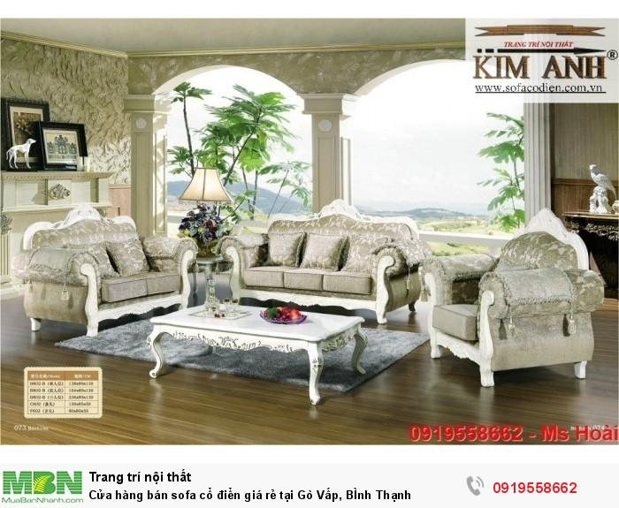 [3] Cửa hàng bán sofa cổ điển giá rẻ tại Gò Vấp, BÌnh Thạnh
