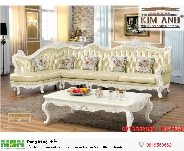[4] Cửa hàng bán sofa cổ điển giá rẻ tại Gò Vấp, BÌnh Thạnh