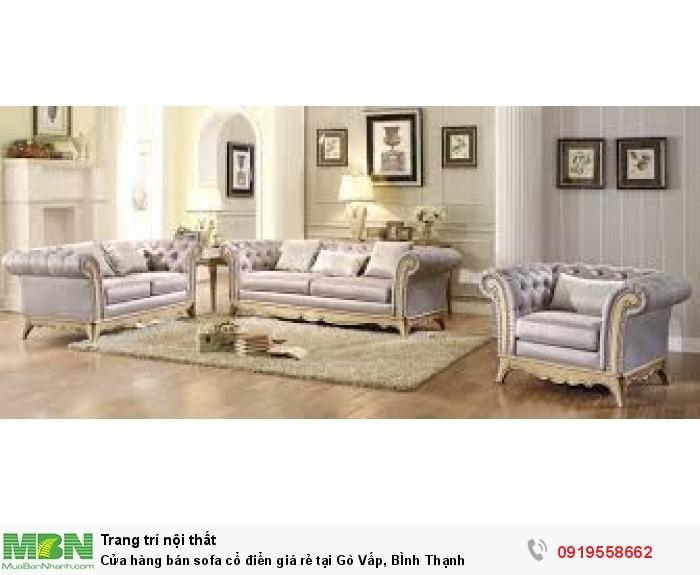 [6] Cửa hàng bán sofa cổ điển giá rẻ tại Gò Vấp, BÌnh Thạnh