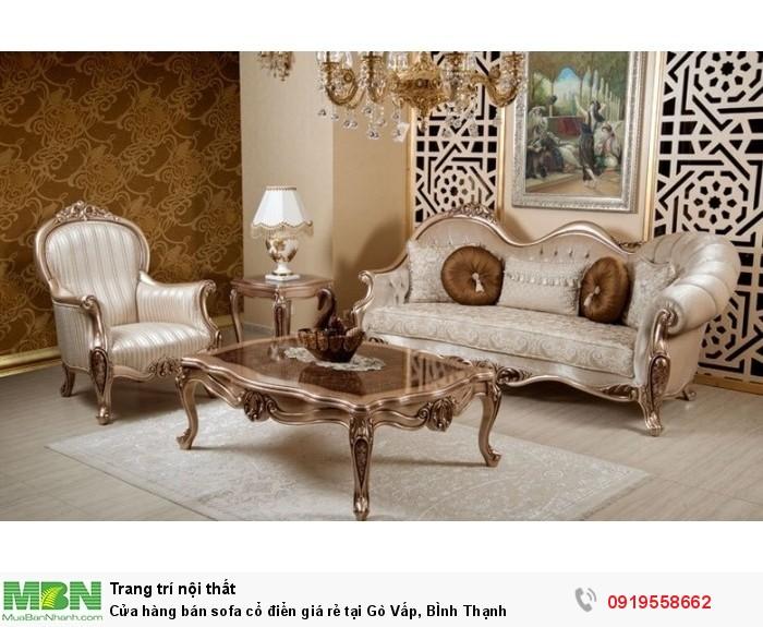 [8] Cửa hàng bán sofa cổ điển giá rẻ tại Gò Vấp, BÌnh Thạnh