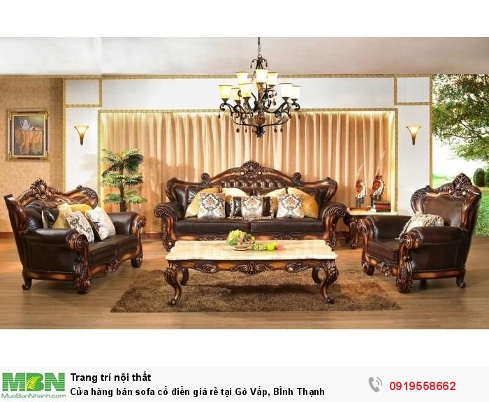 [9] Cửa hàng bán sofa cổ điển giá rẻ tại Gò Vấp, BÌnh Thạnh
