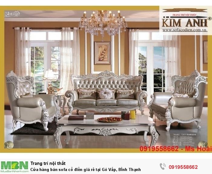 [10] Cửa hàng bán sofa cổ điển giá rẻ tại Gò Vấp, BÌnh Thạnh