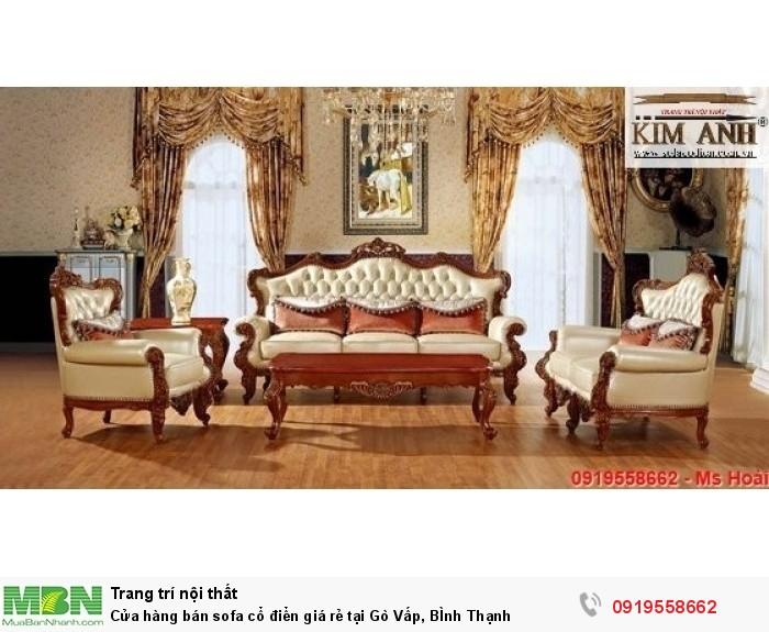 [11] Cửa hàng bán sofa cổ điển giá rẻ tại Gò Vấp, BÌnh Thạnh