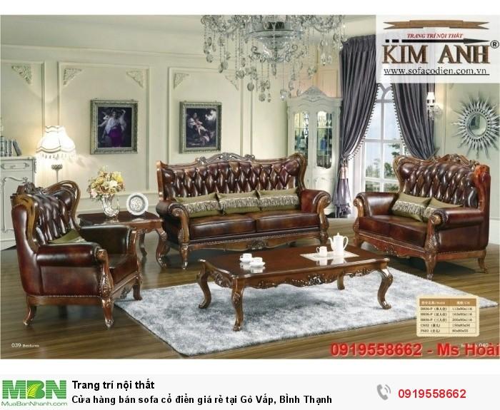 [12] Cửa hàng bán sofa cổ điển giá rẻ tại Gò Vấp, BÌnh Thạnh