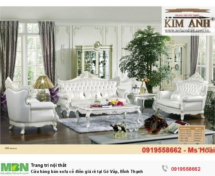 [13] Cửa hàng bán sofa cổ điển giá rẻ tại Gò Vấp, BÌnh Thạnh