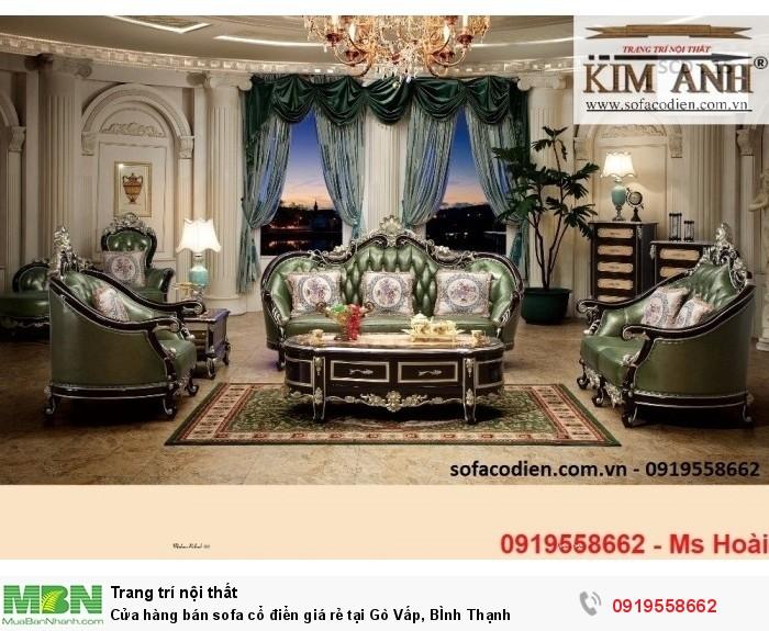 [15] Cửa hàng bán sofa cổ điển giá rẻ tại Gò Vấp, BÌnh Thạnh