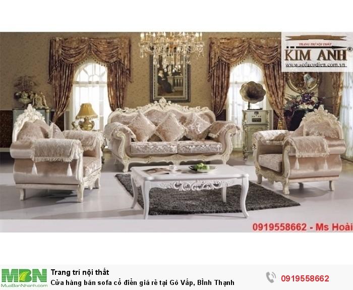 [16] Cửa hàng bán sofa cổ điển giá rẻ tại Gò Vấp, BÌnh Thạnh