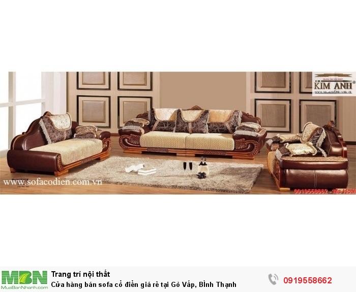 [17] Cửa hàng bán sofa cổ điển giá rẻ tại Gò Vấp, BÌnh Thạnh