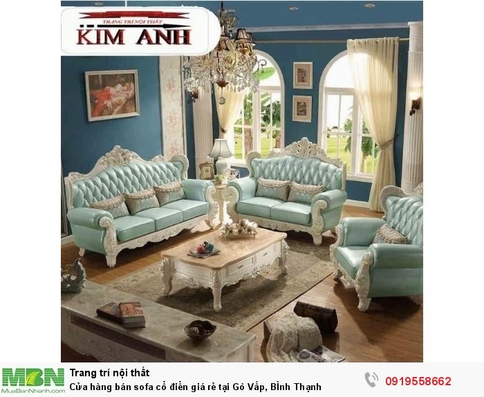 [18] Cửa hàng bán sofa cổ điển giá rẻ tại Gò Vấp, BÌnh Thạnh