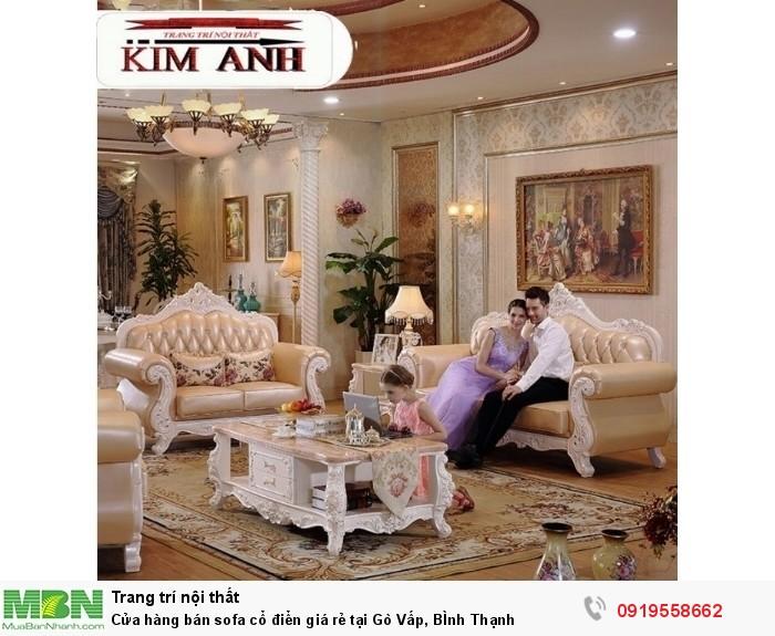 [19] Cửa hàng bán sofa cổ điển giá rẻ tại Gò Vấp, BÌnh Thạnh