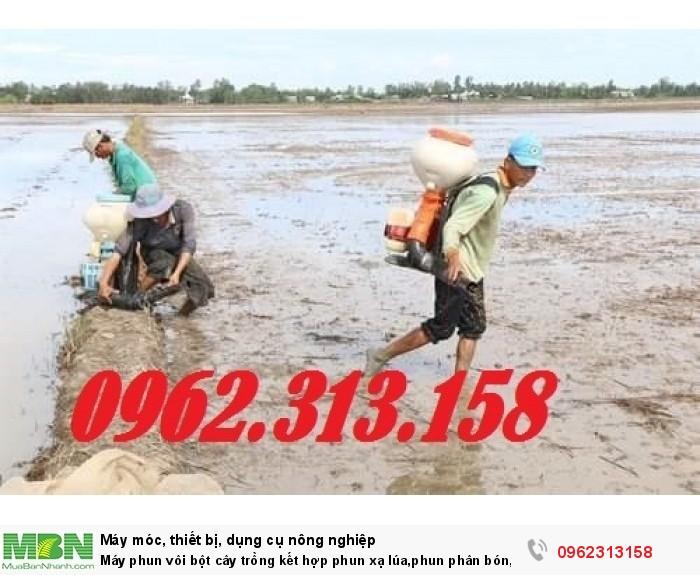 Máy phun vôi bột,phun thuốc khử trùng cho chuồng trại chăn nuôi chống dịch tả lợn Châu Phi5