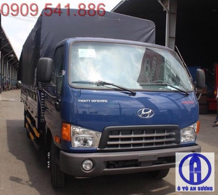 Xe tải hyundai hd700 6t8 vay trả góp 90%