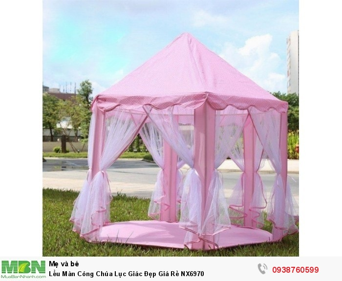 Lều Màn Công Chúa Lục Giác Đẹp Giá Rẻ NX69700