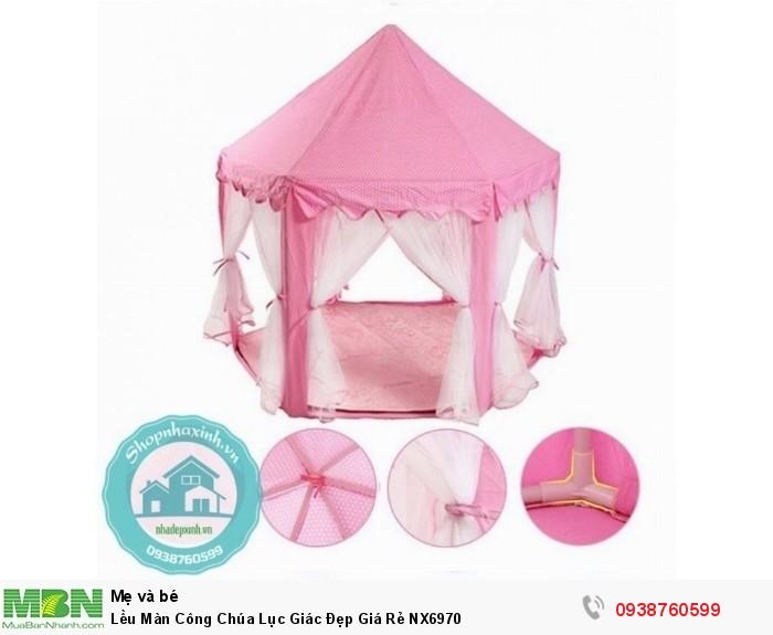 Lều Màn Công Chúa Lục Giác Đẹp Giá Rẻ NX69701