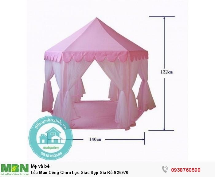 Lều Màn Công Chúa Lục Giác Đẹp Giá Rẻ NX69702
