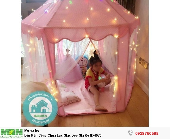 Lều Màn Công Chúa Lục Giác Đẹp Giá Rẻ NX69703