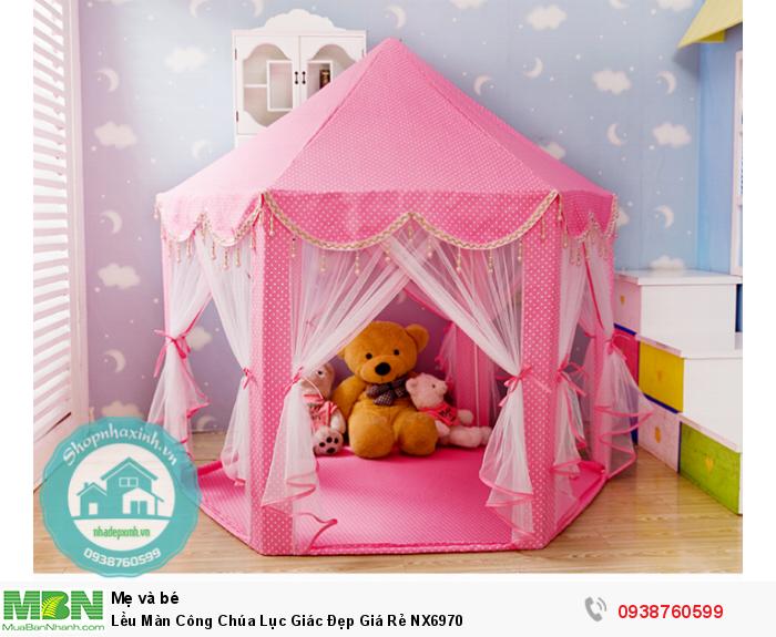 Lều Màn Công Chúa Lục Giác Đẹp Giá Rẻ NX69704