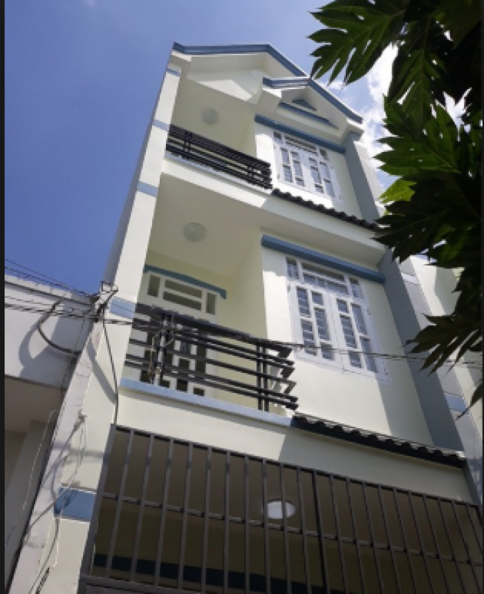 Bán gấp nhà đường Thanh Đa 60m2 (4x15)m 3tầng, Bình Thạnh SHR