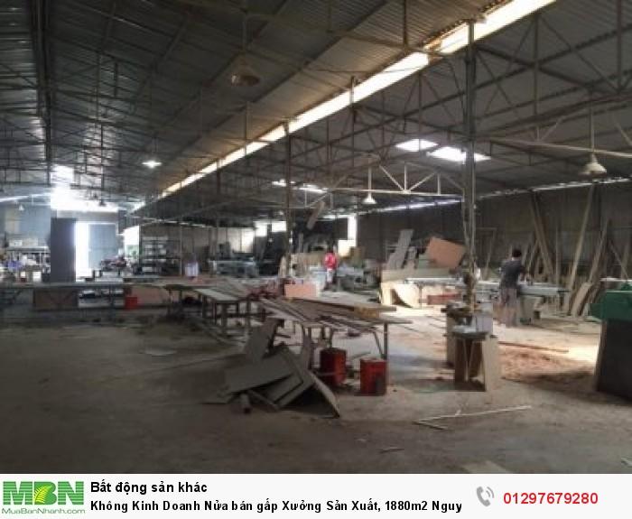 Không Kinh Doanh Nửa bán gấp Xưởng Sản Xuất, 1880m2 Nguyên Kim Cương, Tân Thạnh Đông.