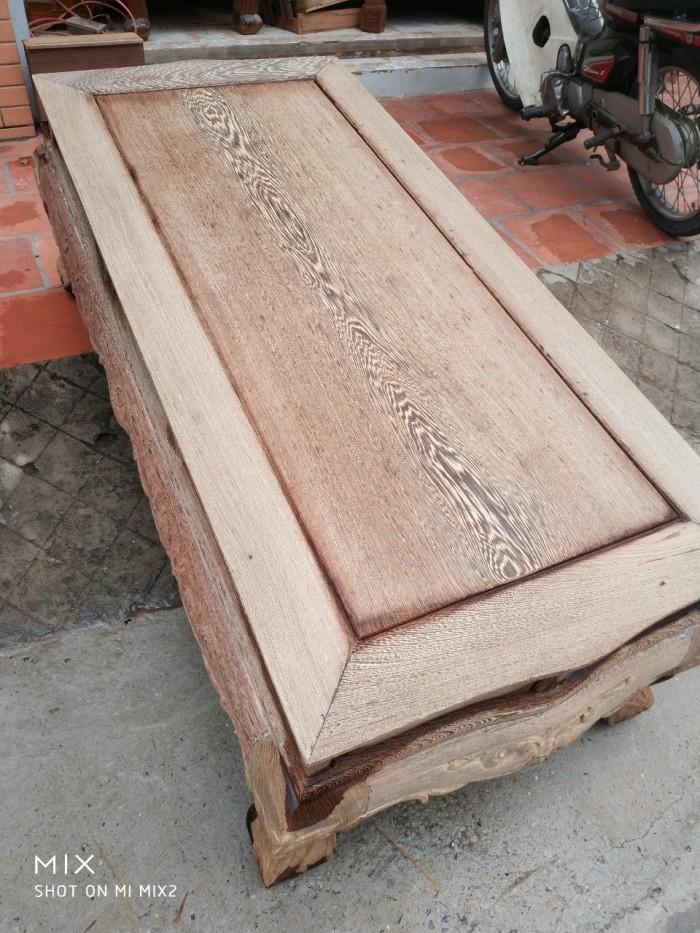 Bộ bàn ghế đồng kỵ kiểu hoàng gia gỗ mun đuôi công9