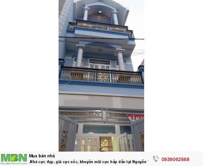 Nhà cực đẹp, giá cực sốc, khuyến mãi cực hấp dẫn tại Nguyễn Thị Tú,Bình Hưng Hoà B,Bình Tân