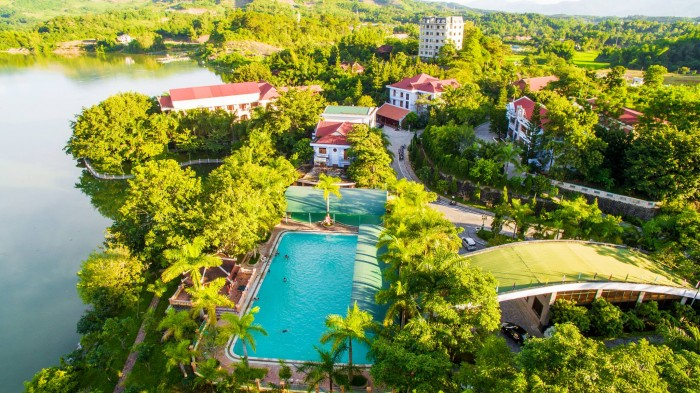 Kiến trúc xanh (Himlam Resort)