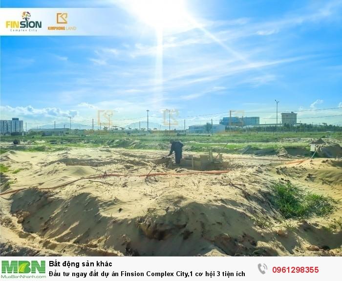 Đầu tư ngay đất dự án Finsion Complex City,1 cơ hội 3 tiện ích