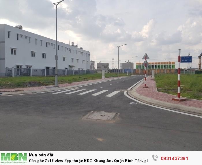 Căn góc 7x17 view đẹp thuộc KDC Khang An- Quận Bình Tân- giá cực ưu đãi