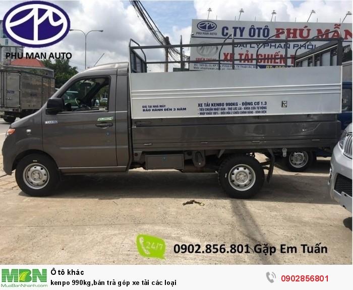 kenpo 990kg,bán trả góp xe tải các loại 2