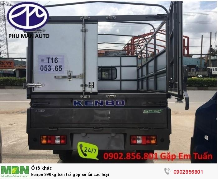 kenpo 990kg,bán trả góp xe tải các loại 6