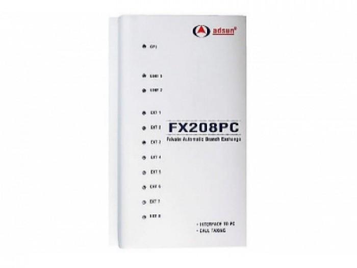 Tổng đài điện thoại Adsun FX208PC0