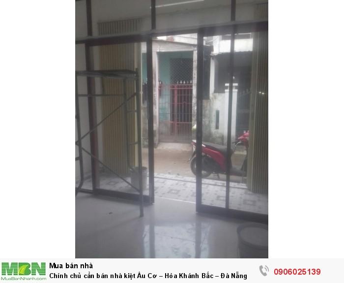Chính chủ cần bán nhà kiệt Âu Cơ – Hòa Khánh Bắc – Đà Nẵng