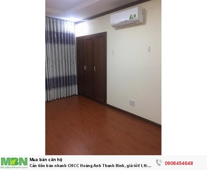 Cần tiền bán nhanh CHCC Hoàng Anh Thanh Bình, giá tốt!