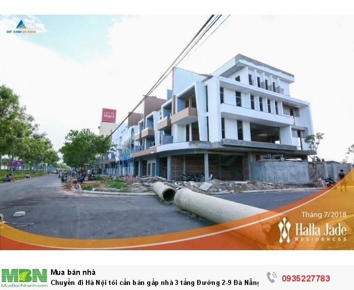 Chuyển đi Hà Nội tôi cần bán gấp nhà 3 tầng Đường 2-9 Đà Nẵng gần siêu thị Lotte