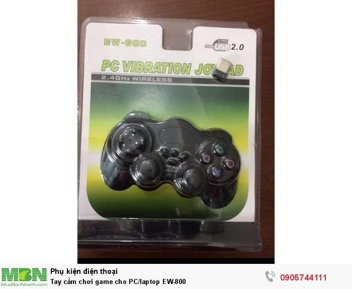 Tay cầm chơi game cho PC/laptop EW-8000