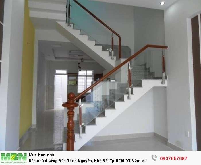 Bán nhà đường Đào Tông Nguyên, Nhà Bè, Tp.HCM DT 3.2m x 14m trệt 2 lầu, 4PN