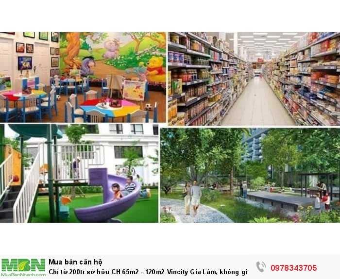 Sở hữu căn hộ 65m2 - 120m2 Vincity Gia Lâm, không gian sống cao cấp, tiện ích đồng bộ 5*